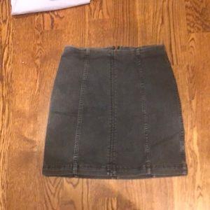 COPY - Free people denim skirt